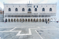 Venice, Italy. Doge's Palace on San Marco square, Venice, Italy Royalty Free Stock Images