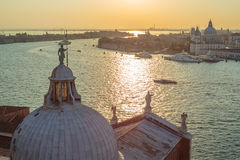 Venice, Italy. Early morning in September in Venice Royalty Free Stock Photo