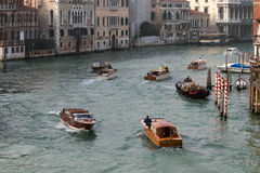 VENICE, ITALY/EUROPE - OCTOBER 26 : Busy canal  in Venice on Oct Stock Photo