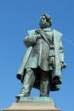 VENICE, ITALY/EUROPE - OCTOBER 12 : Statue of Daniele Manin in V Royalty Free Stock Photos