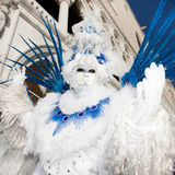 VENICE, ITALY - FEBRUARY 16: Venetian mask Royalty Free Stock Photo