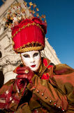 VENICE, ITALY - FEBRUARY 16: venetian mask Royalty Free Stock Images