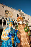 VENICE, ITALY - FEBRUARY 16: venetian mask Royalty Free Stock Image