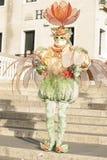 Venice, Italy - February 5 2018 - The Masks of carnival 2018. Stock Photography