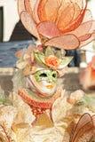 Venice, Italy - February 5 2018 - The Masks of carnival 2018. Stock Photo