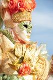 Venice, Italy - February 5 2018 - The Masks of carnival 2018. Royalty Free Stock Photo