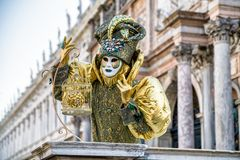 The Carnival of Venice 2018 Royalty Free Stock Photography