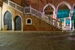 Venice Italy fish market Royalty Free Stock Photos