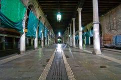 Venice Italy fish market Stock Photo
