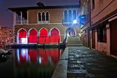Venice Italy fish market Royalty Free Stock Images