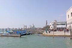 Venice, Italy. Gondolas Stock Photos