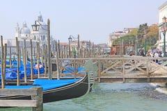 Venice, Italy. Gondolas Stock Image