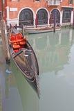 Venice, Italy. Gondolas Stock Photography
