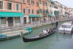 Venice, Italy. Gondolas Royalty Free Stock Photos