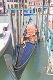 Venice, Italy. Gondolas Royalty Free Stock Photo