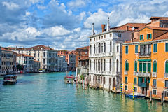 Venice Italy, the Grand Canal Stock Image