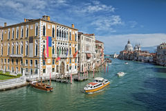 Venice Italy, the Grand Canal Stock Photo