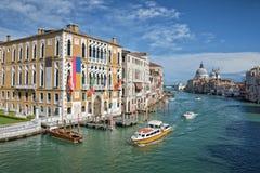 Venice Italy, the Grand Canal stock photo