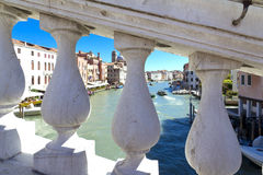 Venice, Italy, Grand Canal Stock Images