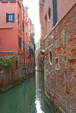 Venice, Italy, Grand Canal and historic tenements Stock Images