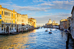 Venice, Italy, Grand Canal Royalty Free Stock Photography