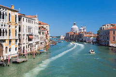 Venice Italy. Grand canal Royalty Free Stock Image