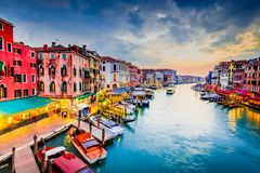 Venice, Italy - Grand Canal stock images