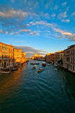 Venice Italy grand canal view Royalty Free Stock Image