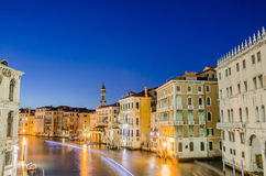 View from Rialto bridge Royalty Free Stock Photography