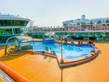 Venice, Italy - June 06, 2015: Cruise ship Splendour of the Seas by Royal Caribbean International Royalty Free Stock Image