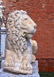 Venice, Italy - Marble carved lion Royalty Free Stock Image