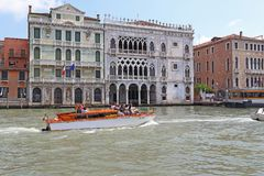 Palaces of Venice royalty free stock images