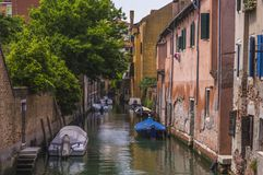 Old Venice Canal Royalty Free Stock Photo