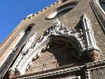 Beautiful church in Venice Stock Images