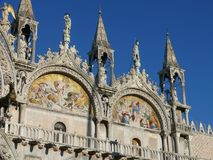 Doge`s Palace in Venice Royalty Free Stock Photos