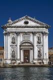 Gesuati Church or Santa Maria del Rosario. VENICE, ITALY - OCTOBER 31. 2014: Gesuati Church or Santa Maria del Rosario is a church in Venice, located in the Stock Photo