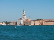 View of San Giorgio Maggiore in Venice Stock Photography