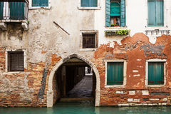 Venice, Italy. Old canal in Venice, Italy royalty free stock photography