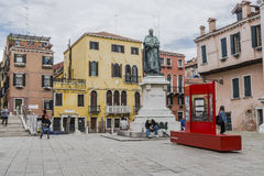 Venice in Italy stock images