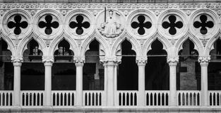Venice, Italy - Palazzo Ducale detail Stock Images
