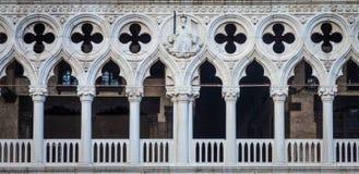 Venice, Italy - Palazzo Ducale detail Stock Photo