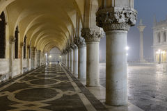 Venice, Italy. Piazza San Marco at night, Venice, Italy Stock Images