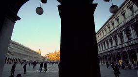 Venice Italy, Piazza San Marco Venice stock footage