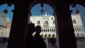 Venice Italy, Piazza San Marco Venice stock video footage