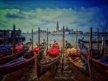 Venice. Italy, Plaza, Travel, Destnation, Gondola, River stock image