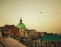 Venice. Italy, Plaza, Travel, Destnation, Gondola, River royalty free stock images