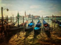 Venice. Italy, Plaza, Travel, Destnation, Gondola, River royalty free stock photography