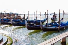Venice. Italy. Quay Grand canal Stock Photos