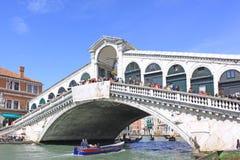 Venice, Italy. Rialto Bridge Ponte di Rialto Royalty Free Stock Photos