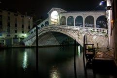 Venice Italy Rialto bridge view Royalty Free Stock Photo